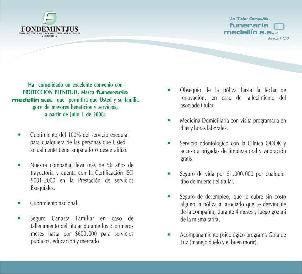 Fondo empleados ministerio del interior y justicia for Correo ministerio del interior