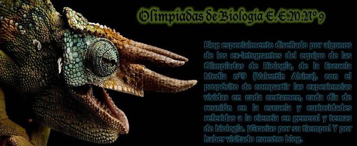 Olimpiadas de Biologia E.E.M.Nº 9