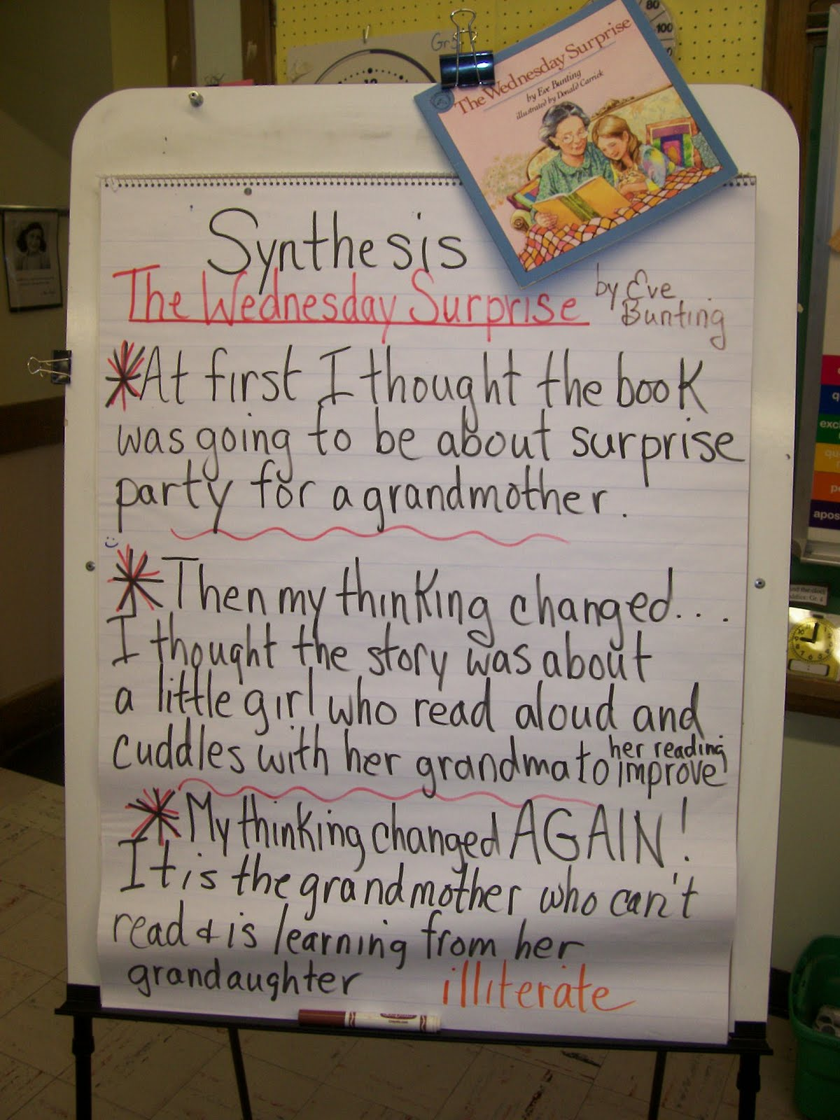 example of synthesis in literature