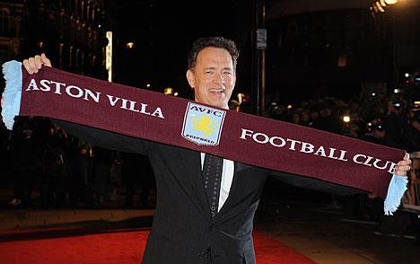 Tom Hanks Aston Villa