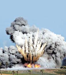 Arde y estalla Gaza.