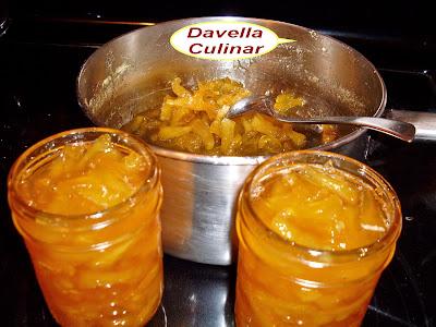 Davella culinar cr pes au rhum et la confiture d 39 ananas et de la citrouille clatite cu - Confiture de gratte cu ...