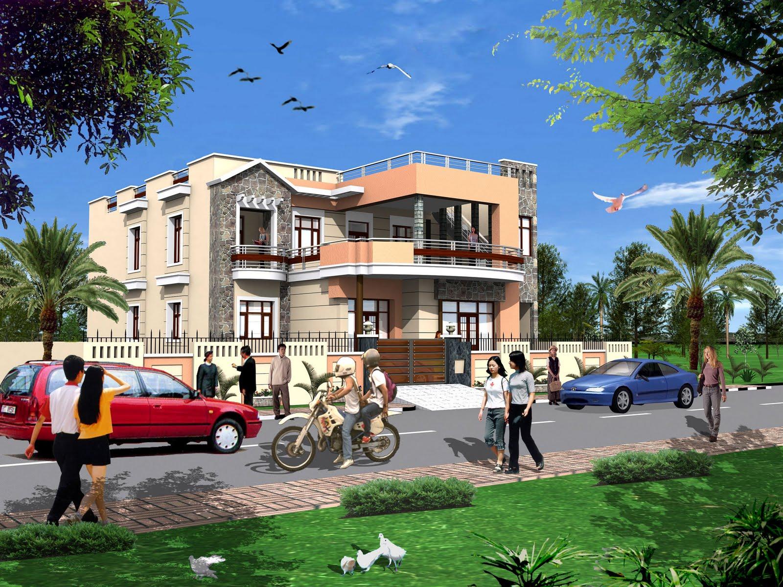 Singpore Building Elevation...