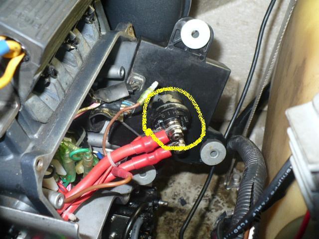 Yamaha Waveraider Battery