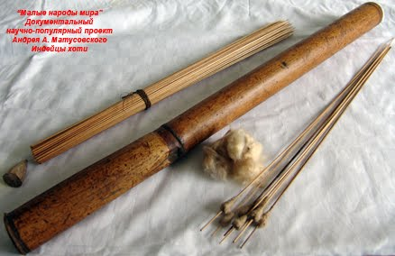 Как сделать духовую трубку из бамбука