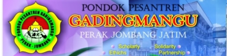 PONDOK PESANTREN GADINGMANGU