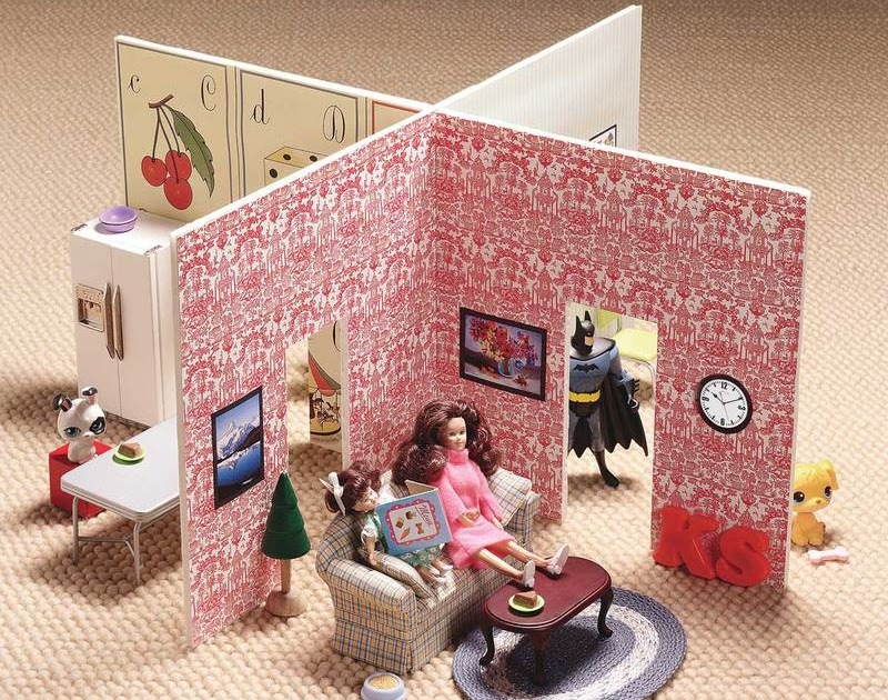 Мебель и домики из картона своими руками 240