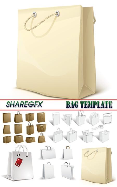 vdshare stock vector bag template. Black Bedroom Furniture Sets. Home Design Ideas
