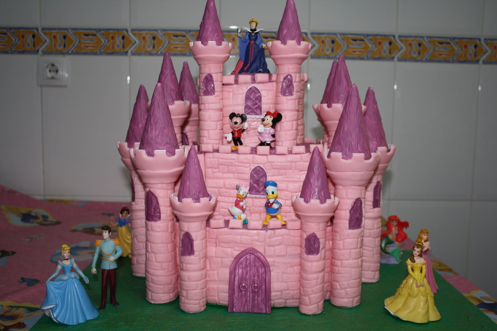 Las tartas de Paz: Castillo Disney
