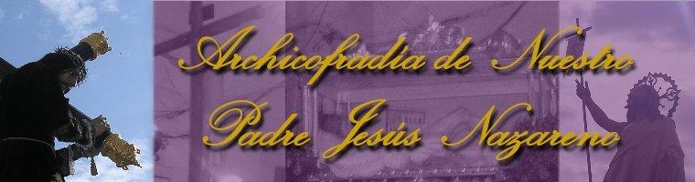 Archicofradia de Ntr. Padre Jesus Nazareno de Sorbas