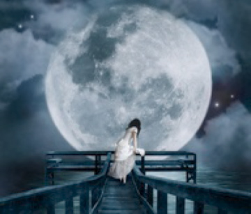 alonebridgedepressiondreamdreamygirlharbourlakemoonnightphotographyphotoshopriversadskywhitewoman baec3b5c4301636f28d9abda49fbe5f9 m1262585622 - *~iMagEs fOr poEtrY deS :) ~* diNg Dong..