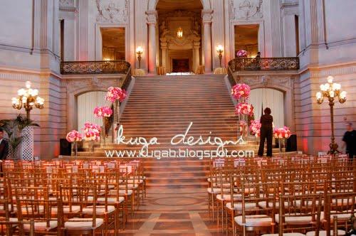 Kuga Designs Pink San Francisco City Hall The Set Up