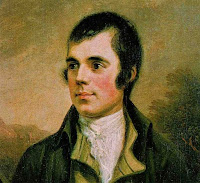 A portrait of Robert Burns