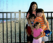 The kids and I at Seaside Heights,N.J. Summer of `06