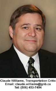 Claude Williams Transportation Critic