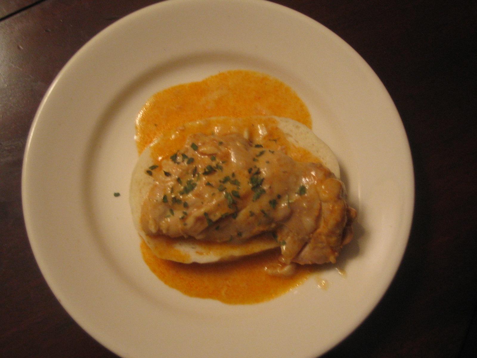 Hungarian Chicken Goulash - The Daring Gourmet Chicken cream fashion old paprika recipe sour