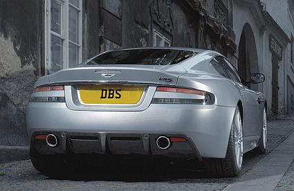 Aston Martin on Aston Martin Dbs V12