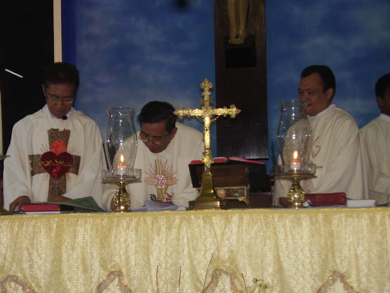Serah Terima Pastor Paroki Gorontalo