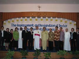 Acara Pelantikan Rektor De La Salle