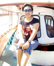 on the boat to Bunaken