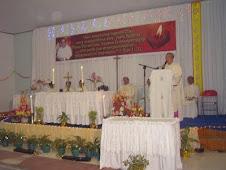 Perayaan Misa Syukur 40th Imamat Pst Agus M