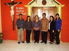 Foto bersama dgn 2 Rektor dan bos-bos lain