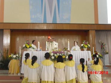 Misa Syukur Hut Paroki St Mikael ke-2