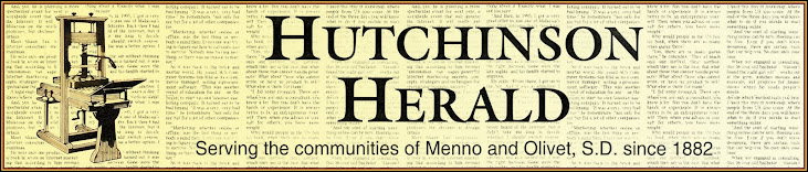 Hutchinson Herald, Menno, South Dakota