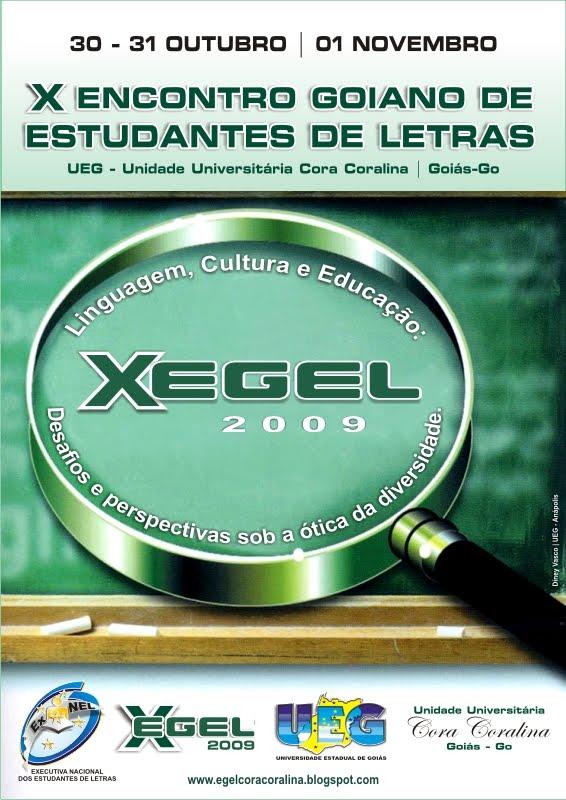 X Encontro Goiano de Estudantes de Letras