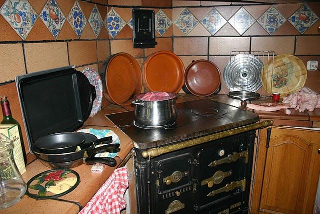 Barallobre la cocina econ mica - Cocina economica a lena ...