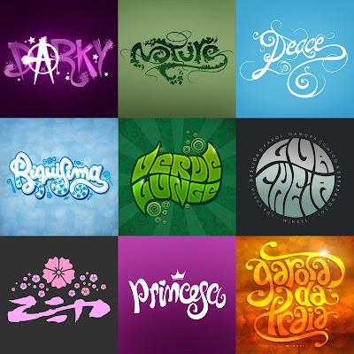 Andocreando dibujando letras for Logos con letras