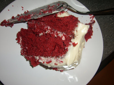 I Like To Call My Baking Products Rustic Delicious But So Here Start The Year With Red Velvet Cake