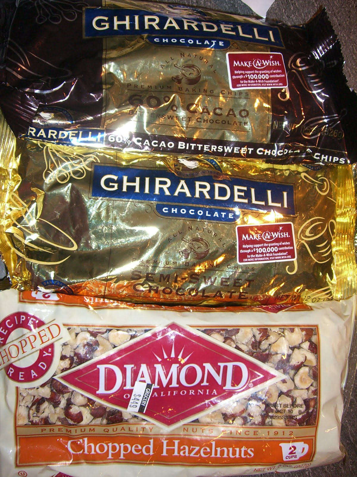 Ghirardelli Double Chocolate Cookies