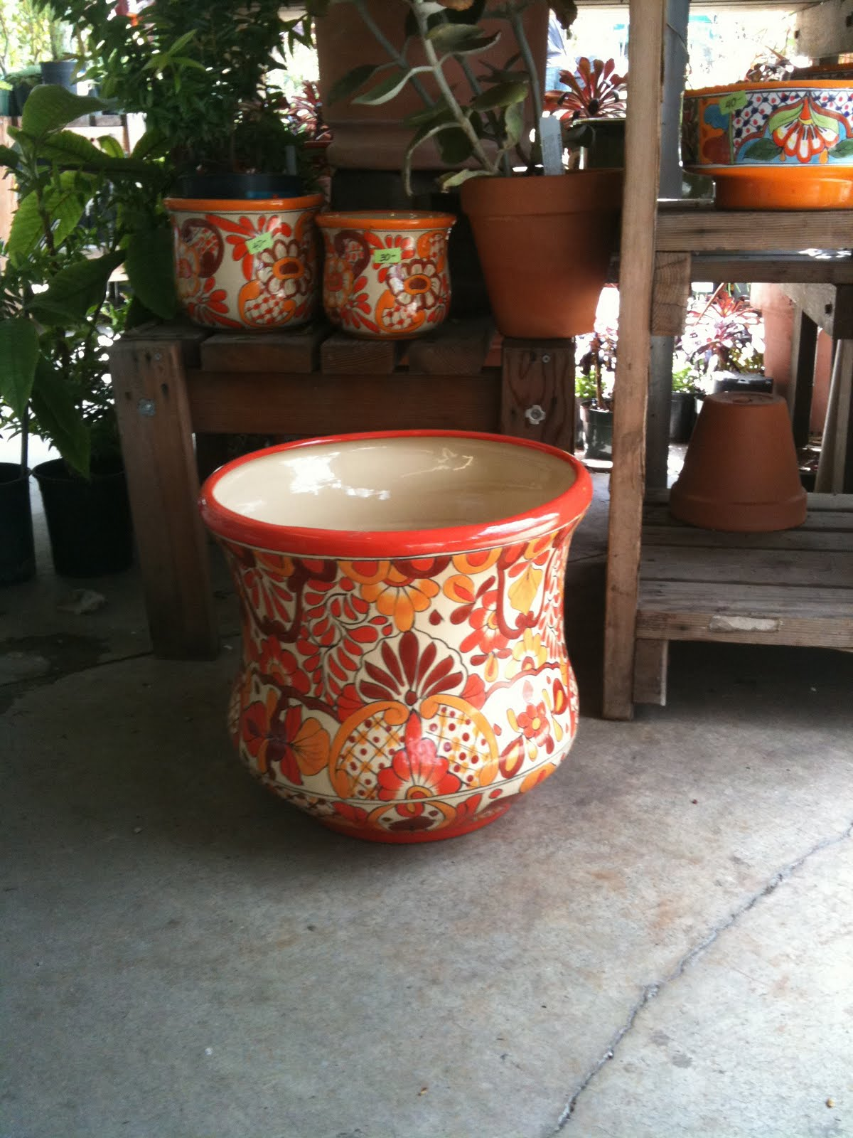 ... Pottery To Compliment The Spanish Style Houses Found In The Bay Area,  Or Classic Urns To Compliment More Formal Italian And French Garden Styles.