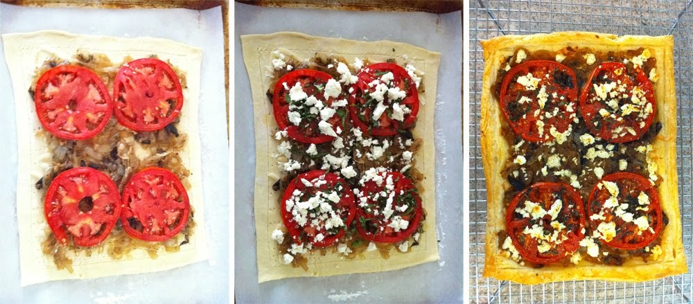 The Cooker Man Tomato And Onion Tart