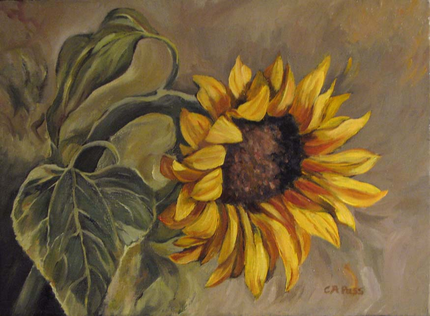 PaintedPlums: Sunflower Nod