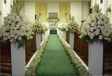 decora o do casamento igreja solteiras noivas casadas. Black Bedroom Furniture Sets. Home Design Ideas