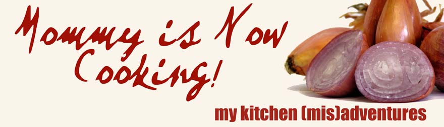 Mommy is Now Cooking