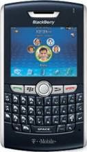 BlackBerry 8820 T-Mobile and Research In Motion announced the national availability of the BlackBerry 8820 smartphone, featuring built-in GPS and support