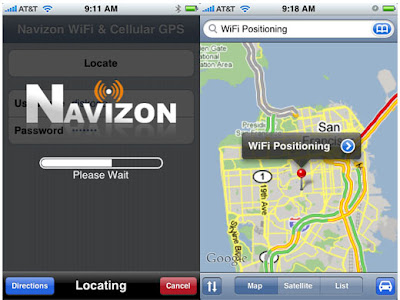 Free Version of Navizon GPS for iPhone