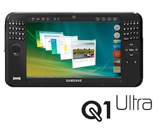 Samsung Q1 Ultra UMPC Showcased at CES 2008