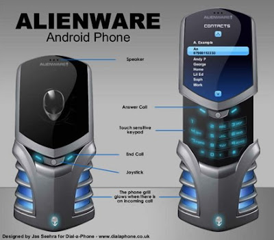 Alienware Android Cell Phone