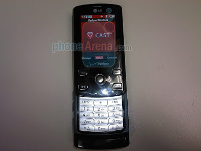 New LG VX8610 Chocolate Phone