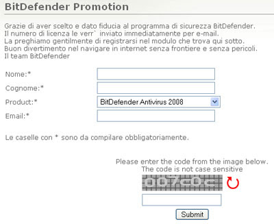 Bitdefender free 6 months license key
