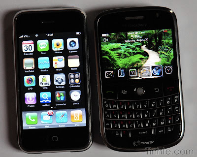 blackberry bold-iphone