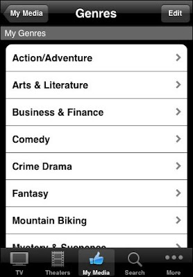 TV Guide for the iPhone