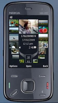 Nokia N86 With 8 Megapixel Camera Phone
