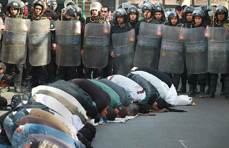 demontrasi egypt