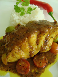 ROBALO AO MOLHO CURRY