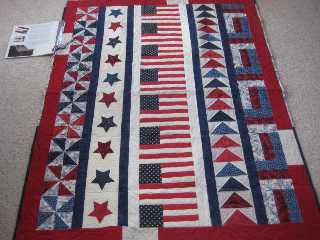 Alycia Quilts: More Warrior Games Quilts of Valor